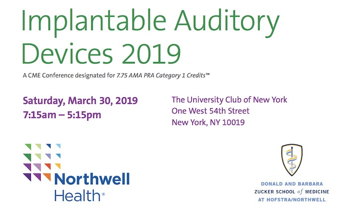 Implantable Auditory Devices 2019 Conference